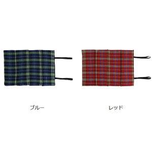 レジャークッション タータンチェック おでかけ座布団 ( 折りたたみ 携帯用 マット )|colorfulbox|02