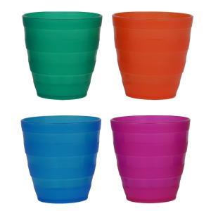 カラフルコップ 4個セット カラフルカトラリー ( レジャー 食器 アウトドア )|colorfulbox