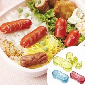 ウインナー抜き型 ウィンナー名人 3個組( 簡単キャラ弁 お弁当グッズ 子供 )|colorfulbox