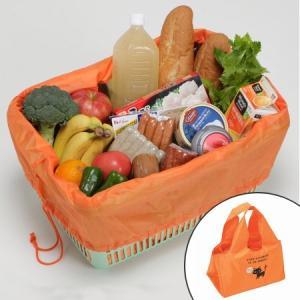レジカゴバッグ ショッピングバッグ くろねこ 保冷ショッピングエコバッグ ( エコバッグ トートバッグ 買い物バッグ 買い物袋 )