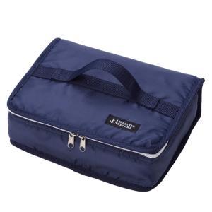 保冷弁当袋 ブック型 シンプル ブルー ( ランチバッグ お弁当ケース )|colorfulbox