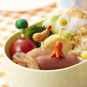 ピック おかずピック ( お弁当グッズ キャラ弁 子供用 )|colorfulbox