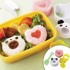 おにぎり型 わ!カップ おむすび型セット ミニしゃもじ付 ( お弁当グッズ デコ弁 ごはんカップ おむすび型 簡単キャラ弁 )|colorfulbox