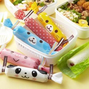 へんしんロールラップ どうぶつ ( お弁当グッズ キャラ弁 子供用 )|colorfulbox