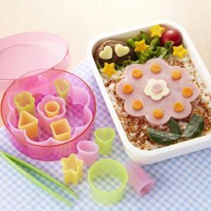 抜き型 ハム・チーズ抜き型収納セット ( キャラ弁 お弁当抜き型 )|colorfulbox