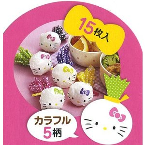 おにぎりラップ ハローキティ ( お弁当グッズ キャラ弁 キャラクター 子供用 おにぎりシート )|colorfulbox