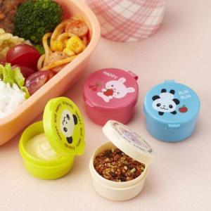 ミニカップ パンダ&うさぎ ( マヨネーズケース ふりかけケース )|colorfulbox