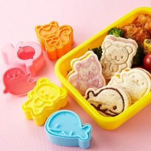 食パン抜き型 海と森の仲間たち ( キャラ弁 食パン 抜き型 )|colorfulbox