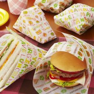 ハンバーガー&サンドイッチ シート 24枚入 ( 包装紙 ハンバーガー袋 )|colorfulbox