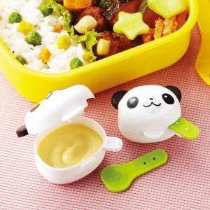 マヨネーズ&ケチャップケース るんるんパンダ