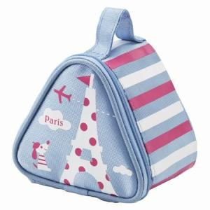 おにぎりケース おにぎり2個用 保冷ランチバッグ トラベル ( おにぎりバッグ おにぎりポーチ 保冷バッグ おにぎり用 )|colorfulbox