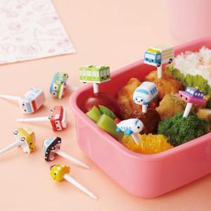 ピック はたらくのりものピック 11本入 お弁当グッズ ( デコ弁 ピックス 子供用 )|colorfulbox