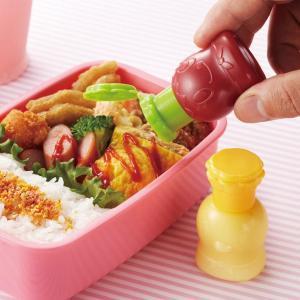 マヨネーズ&ケチャップボトル コックさん 2個組 ( マヨネーズボトル ケチャップボトル 空容器 お弁当グッズ )|colorfulbox