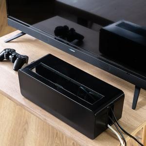 ケーブルボックス タップ 長さ37cm 対応 タップ収納 コード 収納 収納ボックス ( ケーブル収納 タップボックス コード収納 プラスチック おしゃれ 日本製 )|colorfulbox|11