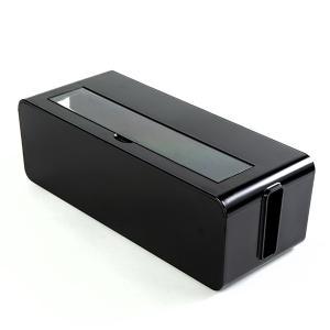 ケーブルボックス タップ 長さ37cm 対応 タップ収納 コード 収納 収納ボックス ( ケーブル収納 タップボックス コード収納 プラスチック おしゃれ 日本製 )|colorfulbox|13