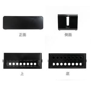 ケーブルボックス タップ 長さ37cm 対応 タップ収納 コード 収納 収納ボックス ( ケーブル収納 タップボックス コード収納 プラスチック おしゃれ 日本製 )|colorfulbox|03