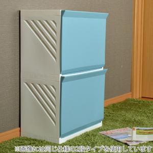 ランドリーボックス Clevan 3段 2台セット ランドリーラック 洗濯かご キャスター付 ( ランドリーバスケット ストッカー 収納ラック ) colorfulbox 10
