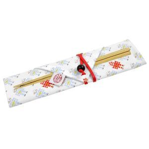 箸&箸袋セット ZAPP 箸袋 ロボット 18cm ( 箸ケース 布製 日本製 )|colorfulbox