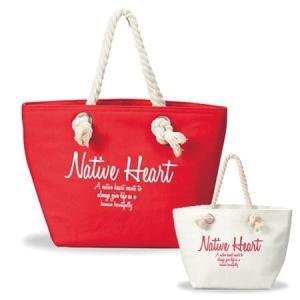 ランチトートバッグ 保冷ランチバッグ Native Heart ( トートバッグ ランチバッグ クーラーバッグ 保温バッグ 保冷バッグ )|colorfulbox