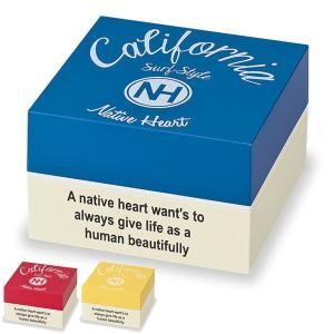 ピクニックランチボックス お弁当箱 2段 Native Heart カーシヴ 15cm スクエアランチ 1500ml ( 弁当箱 行楽 洋風 二段 お重 重箱 日本製 )|colorfulbox