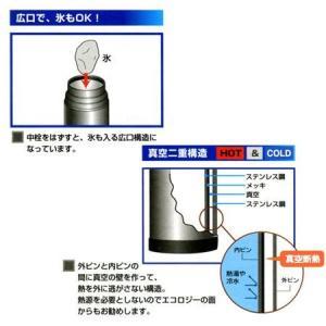 【ポイント最大26倍】水筒 ステンレスボトル ワンダーボトル 0.5L( コップ付 保温・保冷 )|colorfulbox|02