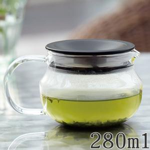 キントー KINTO ティーポット 280ml ワンタッチティーポット 耐熱ガラス ( 紅茶ポット 急須 電子レンジ対応 食洗機対応 )|colorfulbox