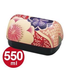 お弁当箱 ランチボックス HAKOYA 布貼 550ml 桜ピンク 和風柄