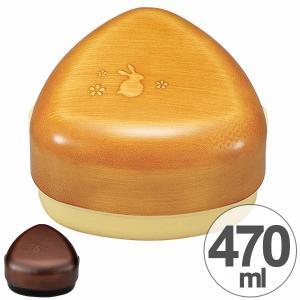 お弁当箱 おにぎりBOX L HAKOYA 福まる 470ml ( ランチボックス 和風 木目調 )|colorfulbox