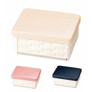 お弁当箱 1段 HAKOYA サンドバスケット WOODY ウッディ 折りたたみ式 ( サンドイッチケース ランチボックス おにぎり弁当箱 )|colorfulbox