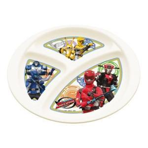 ■在庫限り・入荷なし■キャラクター ランチプレート 特命戦隊ゴーバスターズ 子供用 ( ランチ皿 食器 ) colorfulbox