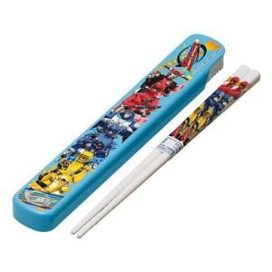 キャラクター スライド式 箸&箸箱セット 特命戦隊ゴーバスターズ 子供用 colorfulbox