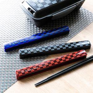 箸&箸箱セット ル・ボア オム M 21cm 男性用 ( 食洗機対応 メンズ 箸ケース )|colorfulbox