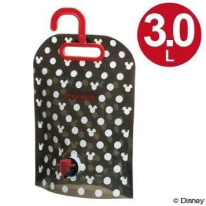 折りたたみ行楽ジャグ 3L ミッキーマウス ミツマル キャラクター ( ウォータージャグ 折りたたみジャグ 水筒 )|colorfulbox