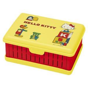 お弁当箱 折りたたみサンドイッチケース ハローキティ ヴィンテージ ( サンドウィッチケース 1段 ランチボックス )|colorfulbox