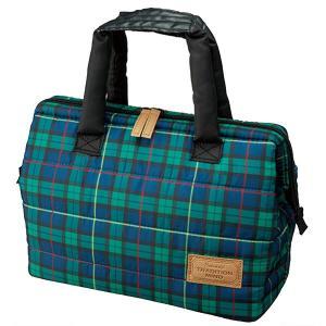 ランチバッグ 保冷バッグ がま口タイプ 2段 L ソフトタイプ トラディションマインド ( お弁当バッグ クーラーバッグ トートバッグ )|colorfulbox