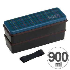 お弁当箱 2段 シリコン製シールブタ ランチボックス トラディションマインド 900ml ( 弁当箱 食洗機対応 大容量 )|colorfulbox