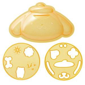 ご飯抜き型 ポムポムプリン キャラカレー デコ型 押し型 ( ご飯型 ライス型 おにぎり型 キャラごはん )|colorfulbox|02