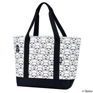 保冷バッグ ショッピングバッグ トートバッグ スターウォーズ STAR WARS ストーム・トルーパー ファスナー式 ( 買い物バッグ 買い物袋 エコバッグ )|colorfulbox