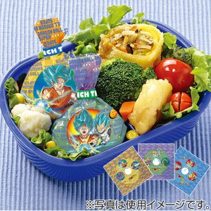 おにぎりラップ ドラゴンボール超 キャラクター 子供用 キャラ弁 ( おむすびラップ お弁当グッズ デコ弁 )|colorfulbox