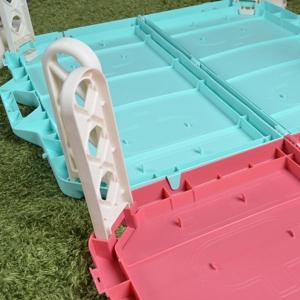 【ポイント最大26倍】ピクニックテーブル レジャーテーブル 連結可能 カップホルダー4人分付き ( 折りたたみ テーブル アウトドア )|colorfulbox|06