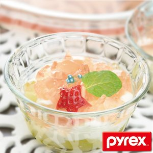 プリンカップ 強化ガラス 360ml パイレックス Pyrex 食器 ( プリン カップ 容器 耐熱...