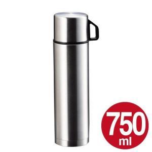 水筒 ステンレスボトル コップ付 750ml スタイルベーシック ( 保温 保冷 魔法瓶 )|colorfulbox