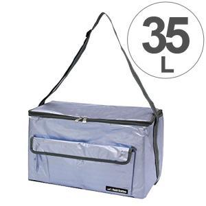 クーラーバッグ アクアクーラー ブルー 35L アルミ ( ソフトクーラー 保冷バッグ クーラーボックス )|colorfulbox