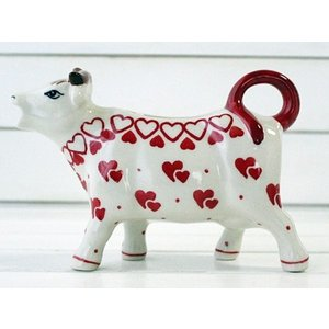 【NEW】ポーリッシュポタリー (ポーランド食器) 牛のピッチャー120ml|D81-ALC106|colorpage