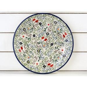 【NEW】ポーリッシュポタリー (ポーランド食器) 17cmプレートS|T130-EO36|colorpage