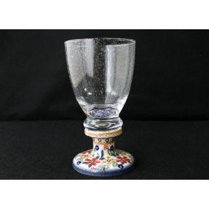 ポーリッシュポタリー(ポーランド食器)ワイングラス W-DPLC|colorpage