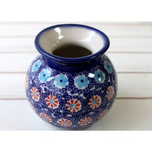 ポーリッシュポタリー(ポーランド食器) 花瓶S|W1-MS01