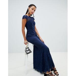 08e098d80d57a チチロンドン マキシドレス レディース Chi Chi London premium lace maxi dress エイソス ASOS 日本未入荷  新作 人気 インポート