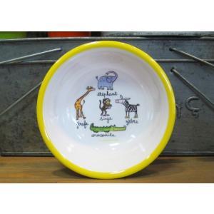 ラシェーズロング ボウル 深皿 ジャングル|colors-kitchen