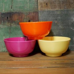 メラミン ラウンドボウル 深皿 メラミン食器|colors-kitchen